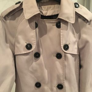 Zara beige trench jacket/coat